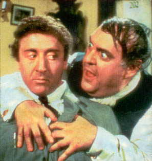 Gene Wilder and Dick Shawn in The Producers